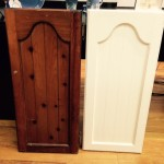 before and after cabinet